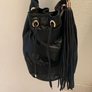 Jenny Bird Ruched Bucket Bag